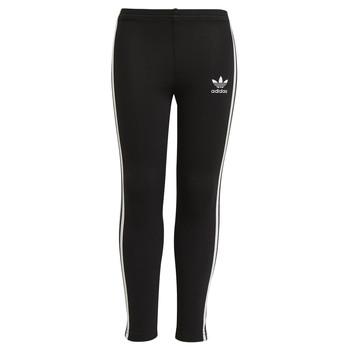 Kleidung Mädchen Leggings adidas Originals CHALEIR Schwarz