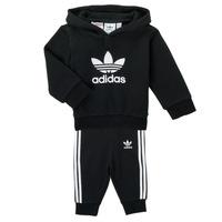 Kleidung Kinder Kleider & Outfits adidas Originals TROPLA Schwarz