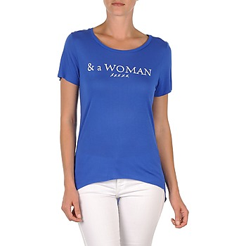 Kleidung Damen T-Shirts School Rag TEMMY WOMAN Blau