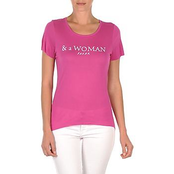 Kleidung Damen T-Shirts School Rag TEMMY WOMAN Violett