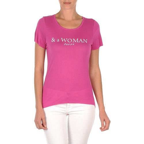 Kleidung Damen T-Shirts School Rag TEMMY WOMAN Violett