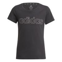 Kleidung Mädchen T-Shirts adidas Performance PLAKAT Schwarz