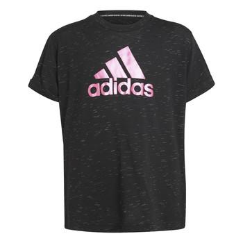 Kleidung Mädchen T-Shirts adidas Performance MONICA Schwarz