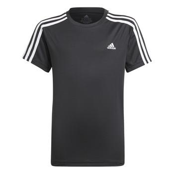 Kleidung Jungen T-Shirts adidas Performance MARIONA Schwarz
