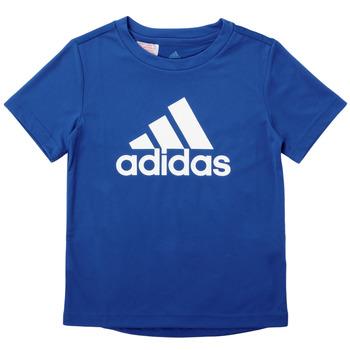 Kleidung Jungen T-Shirts adidas Performance CLAUDIA Blau