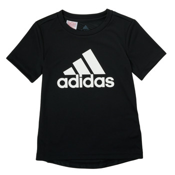 Kleidung Jungen T-Shirts adidas Performance NADGED Schwarz