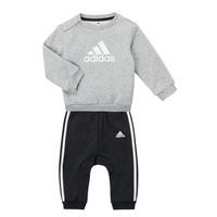 Kleidung Jungen Kleider & Outfits adidas Performance SONIA Grau / Schwarz