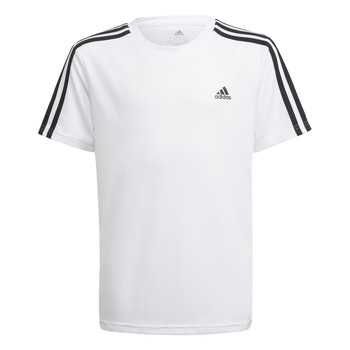Kleidung Jungen T-Shirts adidas Performance AYMERICA Weiss