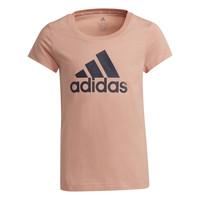 Kleidung Mädchen T-Shirts adidas Performance ALBERIC Rose