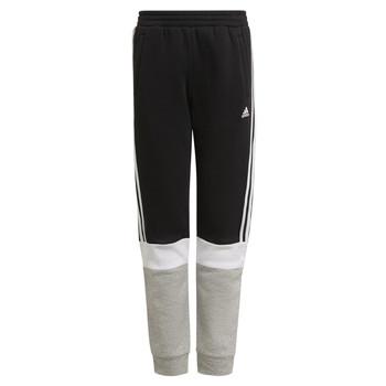 Kleidung Jungen Jogginghosen adidas Performance KATELINA Schwarz / Grau