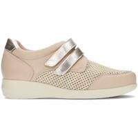 Schuhe Damen Sneaker Low Dtorres GINA 44 BEIGE