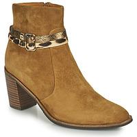Schuhe Damen Low Boots Mam'Zelle NESSY Camel