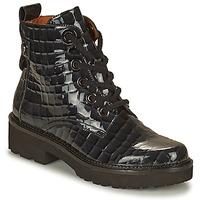 Schuhe Damen Boots Mam'Zelle RANGI Schwarz