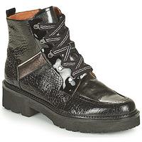 Schuhe Damen Boots Mam'Zelle ROLL Schwarz