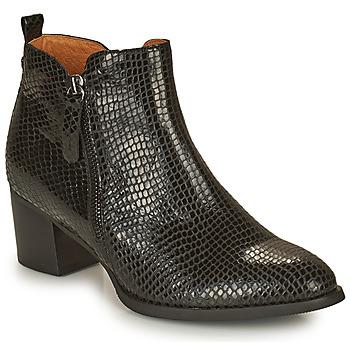 Schuhe Damen Low Boots Mam'Zelle TILIA Schwarz