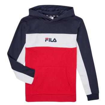 Kleidung Jungen Sweatshirts Fila CAMILLA Rot / Marine