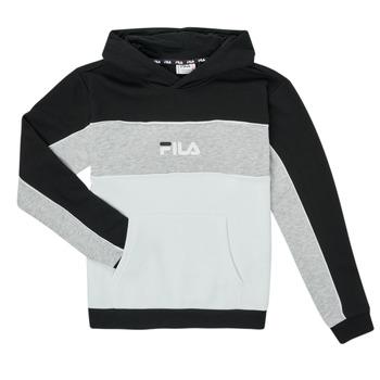 Kleidung Mädchen Sweatshirts Fila POLLY Schwarz / Grau