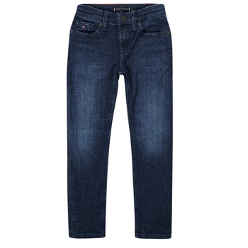 Kleidung Jungen Slim Fit Jeans Tommy Hilfiger ARMAND Blau