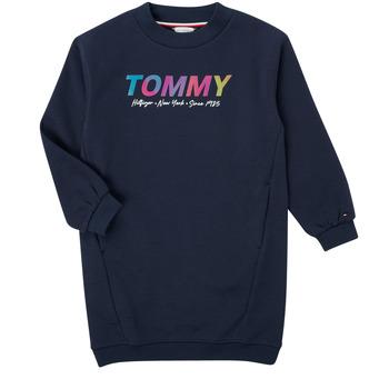 Kleidung Mädchen Kurze Kleider Tommy Hilfiger BELISTA Marine