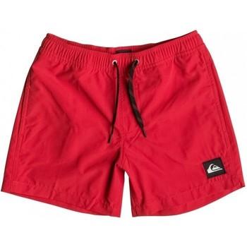 Kleidung Kinder Badeanzug /Badeshorts Quiksilver Everyday 13 EQBJV03042 Rot