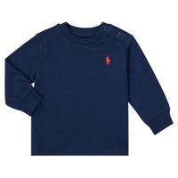 Kleidung Jungen Langarmshirts Polo Ralph Lauren FADILA Marine