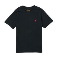 Kleidung Jungen T-Shirts Polo Ralph Lauren FANNY Schwarz