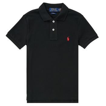 Kleidung Jungen Polohemden Polo Ralph Lauren HOULIA Schwarz