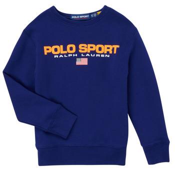 Kleidung Jungen Sweatshirts Polo Ralph Lauren SENINA Marine