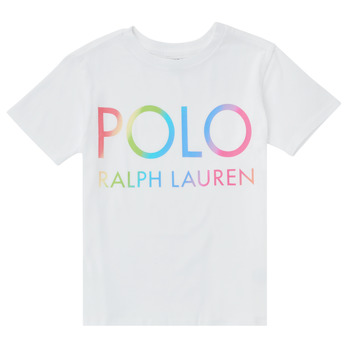 Kleidung Mädchen T-Shirts Polo Ralph Lauren FERILO Weiss