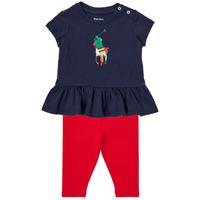 Kleidung Jungen Kleider & Outfits Polo Ralph Lauren BETINA Multicolor