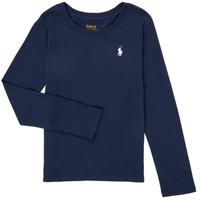 Kleidung Mädchen Langarmshirts Polo Ralph Lauren PETRA Marine