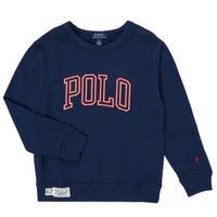 Kleidung Jungen Sweatshirts Polo Ralph Lauren KAMILLAR Marine