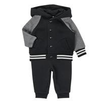 Kleidung Jungen Kleider & Outfits Polo Ralph Lauren DENILO Schwarz / Grau