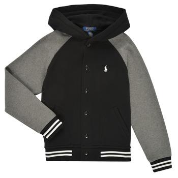 Kleidung Jungen Sweatshirts Polo Ralph Lauren DENINO Schwarz / Grau