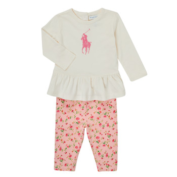 Kleidung Mädchen Kleider & Outfits Polo Ralph Lauren FRENNO Multicolor