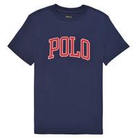 Kleidung Mädchen T-Shirts Polo Ralph Lauren MATIKA Marine