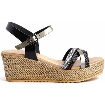 Schuhe Damen Sandalen / Sandaletten Porronet 2738 Schwarz