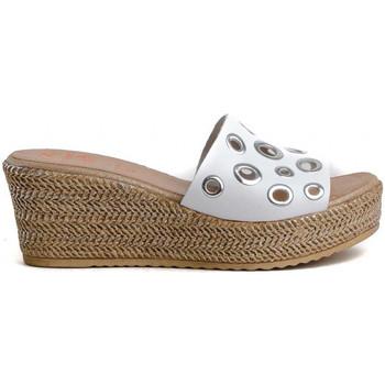 Schuhe Damen Sandalen / Sandaletten Porronet 2737 Weiss