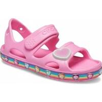 Schuhe Kinder Sandalen / Sandaletten Crocs Fun Lab Rainbow Sandal Kids Rosa