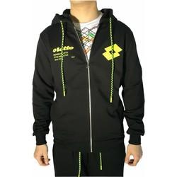 Kleidung Herren Sweatshirts Lotto LTU259 Schwarz