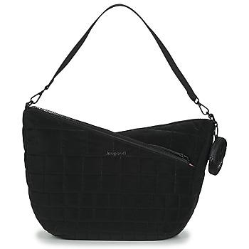 Taschen Damen Umhängetaschen Desigual COCOA HARRY 2.0 MAXI Schwarz