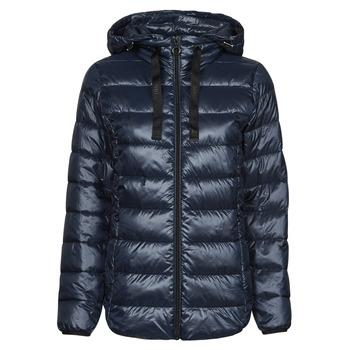Kleidung Damen Daunenjacken Esprit PER LL F TAP JT Blau