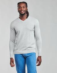 Kleidung Herren Pullover Esprit F PIMA V-NK Grau