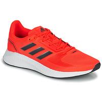 Schuhe Herren Laufschuhe adidas Performance RUNFALCON 2.0 Rot / Schwarz