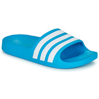 Schuhe Kinder Pantoletten adidas Performance ADILETTE AQUA K Blau / Weiss