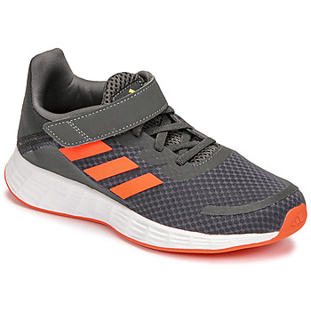 Schuhe Jungen Laufschuhe adidas Performance DURAMO SL C Grau / Rot