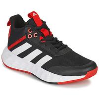 Schuhe Kinder Basketballschuhe adidas Performance OWNTHEGAME 2.0 K Schwarz / Rot