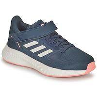 Schuhe Mädchen Laufschuhe adidas Performance RUNFALCON 2.0 C Marine / Rose