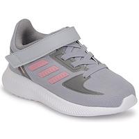 Schuhe Mädchen Laufschuhe adidas Performance RUNFALCON 2.0 I Grau / Rose