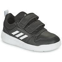 Schuhe Kinder Sneaker Low adidas Performance TENSAUR I Schwarz / Weiss